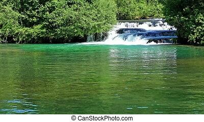 Rastoke Waterfalls, Croatia, 4K video