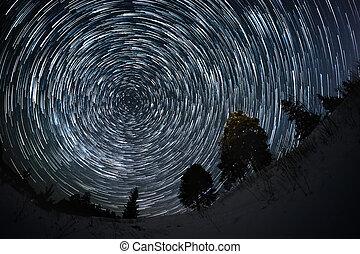 rastros, estrela