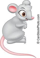 ratón, caricatura