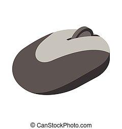 ratón de la computadora, icono, caricatura, estilo