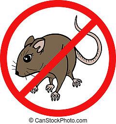 ratón, no