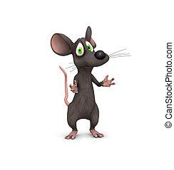 ratón, súplica