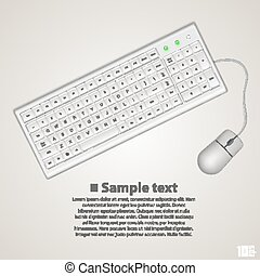 ratón, teclado