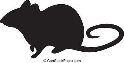 ratón, vector