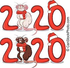 Rat Among of the Text 2020