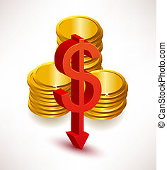rates., concepto, dólar, intercambio