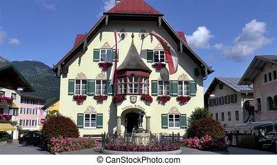 St. Gilgen Town Hall, Austria.