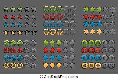 Rating icons pack