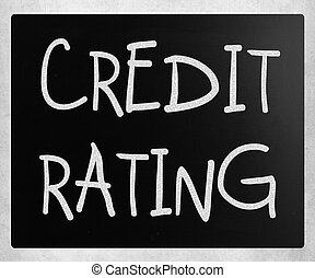 "rating"", tableau noir, ""credit, craie, blanc, manuscrit"