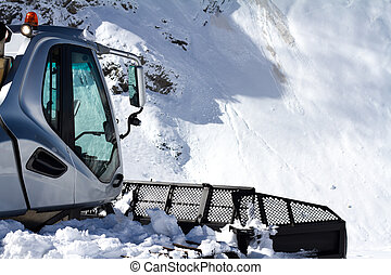 ratrak, 修飾, 機器, 特別, 雪運載工具