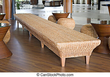 Rattan and Jute Furniture - Image of furniture made of ...