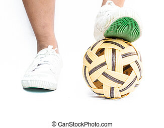 rattan ball - Takraw need to be trained continuously