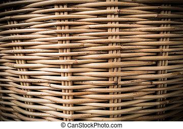 Rattan basketry pattern background 1