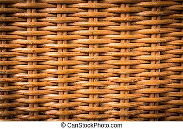 Rattan basketry pattern background 2