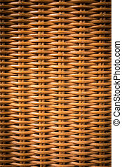 Rattan basketry pattern background 3