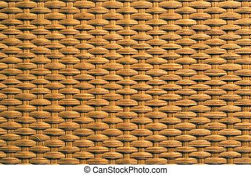 Rattan weave texture - Natural rattan weave texture...