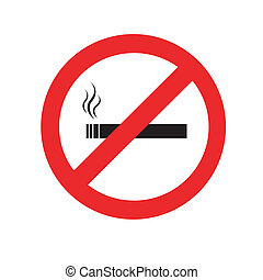 rauchverbot , no smoking