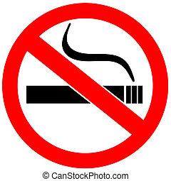 rauchverbotsschild