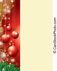raum, kopie, weihnachten, hintergrund