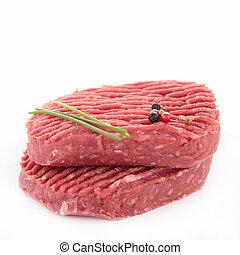 rauwe biefstuk, rundvlees