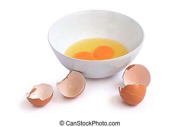 rauwe eieren