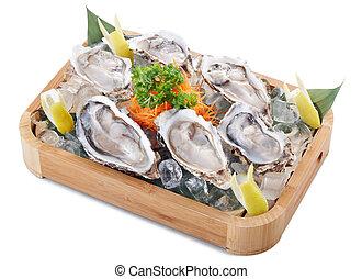 rauwe, oester