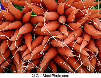 rauwe, wortels