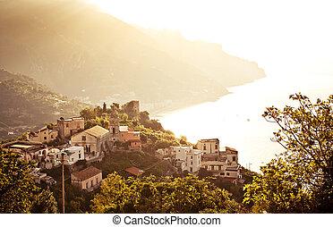 ravello, amalfi 海岸, italy.