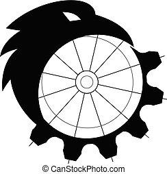raven-mechanical-gear-MASCOT