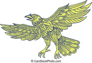raven-wings-fly-side-mandala-bw
