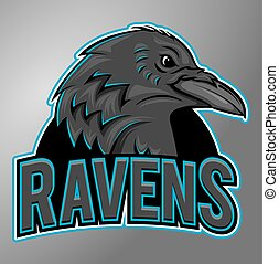 Ravens mascot
