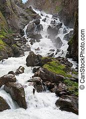 waterfalls in Pre Saint Didier
