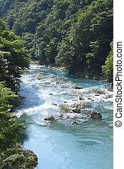ravine  Dakikaeri in Akita
