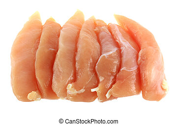 Fresh Chicken Breast Fillet - Raw and Fresh Chicken Breast...