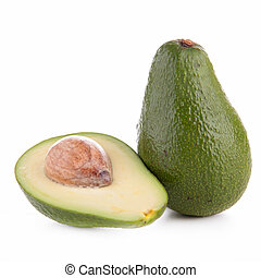 raw avocado