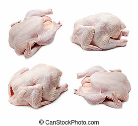 Raw chicken set