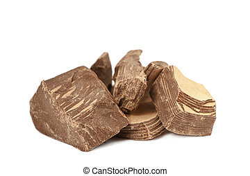 Raw Cocoa Mass - 100% pure organic and raw Cocoa mass.