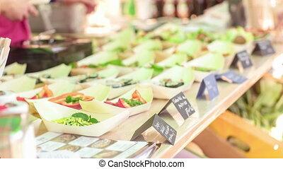 Raw food festival