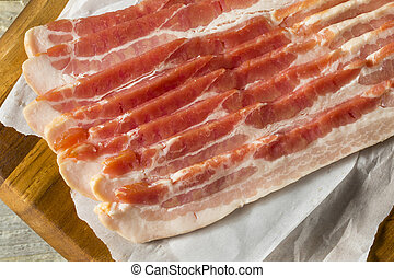 Raw Grass fed Bacon Strips