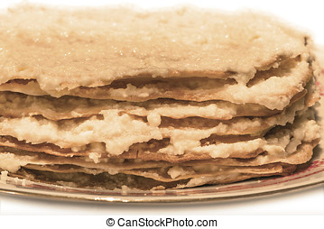 raw layer-cake