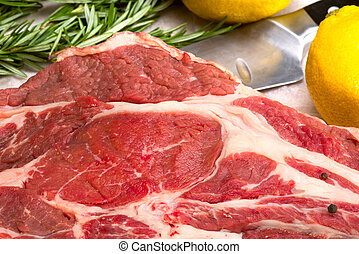 raw meat - beef