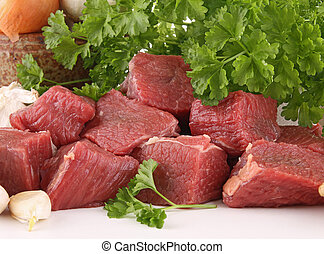 raw meat beef