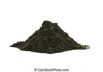 Raw organic Afa Algae - A pile of raw organic afa algae...