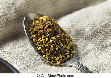 Raw Organic MIddle Eastern Zaatar Spices