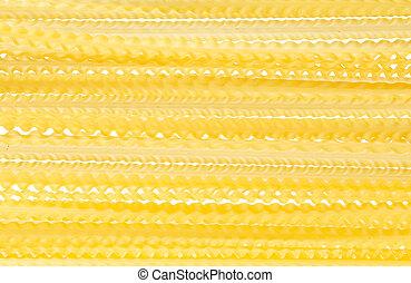 Raw pasta food ingredient background