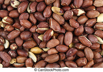 raw peanuts place for text