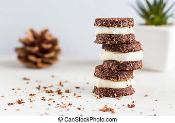 Raw, vegan, paleo cookies - Photo of cookies made from ...