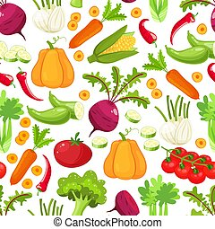 Raw vegetables with sliced pepper eggplant garlic mushroom...