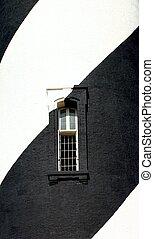 rayé, fenêtre