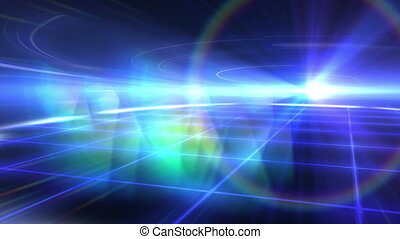 ray floor abstract